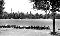 Chesterfield, the Cricket Ground, Queens Park 1952