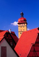 Bavarian rooftop