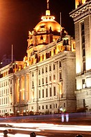 Old Beautiful Buildings Details along the Famous Bund