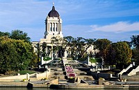 Manitoba Legislative Building, Winnipeg, Manitoba, Canada