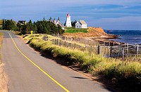 Panmure Island Lighthouse, Prince Edward Island, Canada