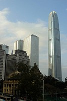 Famous buildings in Hong Kong