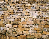 Close-up Of Stone Wall,Haemieupseong Fortress,Chungnam,Korea