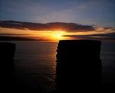 Doonbristy sea stack, Downpatrick Head, Ballycastle, Co Mayo, Ireland