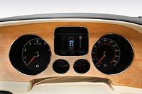 2007 Bentley Continental GTC in Blue - Speedometer/tachometer