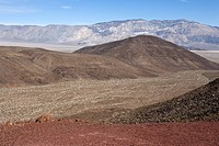 A desert mountain landscape.