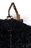Port of Rotterdam, recycling of metal scrap bulk