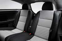 2008 Volvo C30 VER 2 0 in White - Rear seats