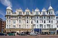Bexhill, sea front, Town center, East Sussex, UK