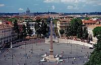 Piazza del Popolo, Italy, Rome