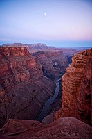Grand Canyon and Colorado River. Arizona, USA