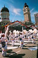 50th Merdeka Fan Display, Kuala Lumpur, Malaysia