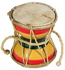 World symbols: Drum Damru India