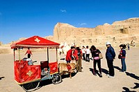 China, Xinjiang, north of Karamay, scenic site