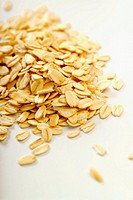 Rolled oats, close_up