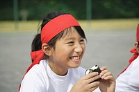 Child Eating Riceball