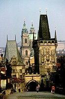 Charles Bridge, Prague. Czech Republic