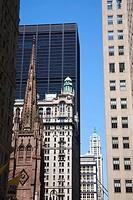 Broadway Avenue in Lower Manhattan, New York City, New York, USA