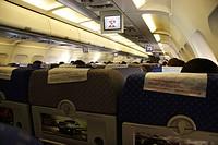 Seatbelt, Airplane, São Paulo, Brazil.
