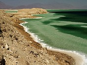 Lake Assal. Djibuti