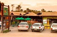 Restaurant, Praia do Rosa, Municipio de Imbituba, Santa Catarina, Brazil