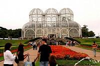 Garden, Jardim Botanico, Curitiba, Parana, Brazil