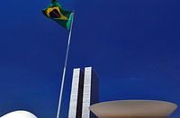 Congresso Nacional, Brasilia, DF, Brazil