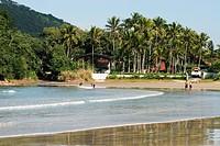 Beach Pernambuco, Guarujá, São Paulo, Brazil