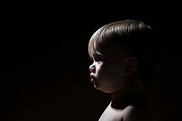 Profile of a baby girl (thumbnail)