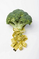 Broccoli and a tape measure