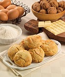 Cuisine: White Chocolate and Walnut Cookies