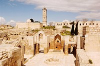 Syria - Aleppo (Halab). Historical Aleppo. UNESCO World Heritage List, 1986. Citadel, 13th century. Royal Palace