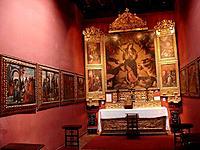 Chapel, Convento de los Descalzos, Lima, Peru
