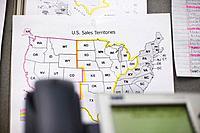 Map of U.S. Sales Territories