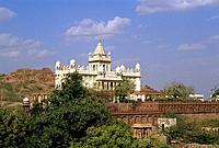 india, rajasthan, jodhpur, jaswant thada