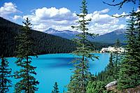 Canada, North America, America, Chateau Lake Louise, Banff, national park, UNESCO, World heritage site, landscape, Roc