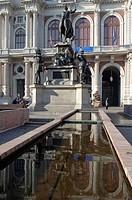 italy, piedmont, turin, carignano palace