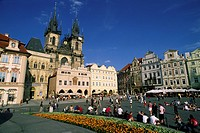 czech republic, prague, staromestske namesti