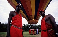 baloon safari, maasai mara, kenya