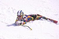 bambino, sci