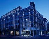 OFFICE RETAIL DEVELOPMENT W1, BOND STREET, LONDON, W1 OXFORD STREET, UK, HDG, EXTERIOR, EXTERIOR VIEW AT DUSK