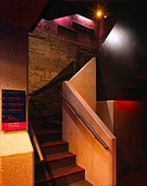 THE EGG THEATRE, BATH, SOMERSET, UK, HOWARTH TOMPKINS, INTERIOR, STAIR IN BASEMENT