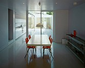 PRIVATE HOUSE, LONDON, N16 STOKE NEWINGTON, UK, SANEI HOPKINS ARCHITECTS, INTERIOR, DINING ROOM