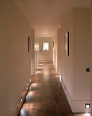 PENTHOUSE FLAT, KNIGHTSBRIDGE, LONDON, SW3 CHELSEA, UK, YAKELEY ASSOCIATES, INTERIOR, PORTRAITVIEW ALONG CORRIDOR