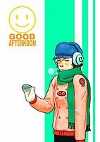Young man with earphone (thumbnail)