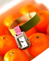 Orange and watch