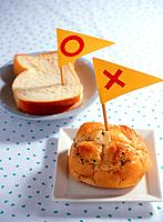 Bread and flag
