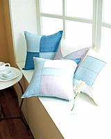 Cushions on window bay