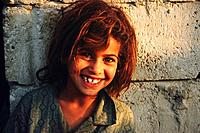 Beduin girl in Petra, Jordan