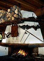 Fireplace, Austria
